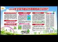 2018年全国节能宣传周展板