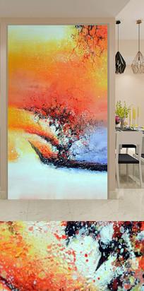抽象纹理艺术酒店玄关装饰画