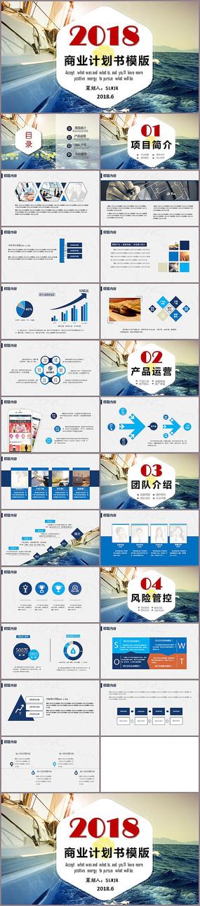 创意商业计划书PPT模版