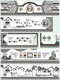 校园文化设计风俗文化长廊