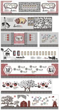 校园文化设计特色文化走廊设计