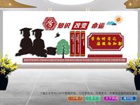 学校文化展板