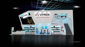 VTRCK巨大集团展览展台
