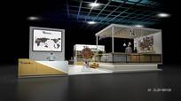 动漫游戏展览展示展台模型