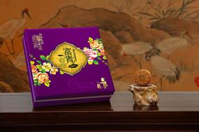 富贵团圆高档月饼礼盒