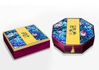 花语秋风高端中秋月饼礼盒