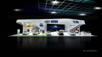 吉利汽车展览展示展台模型