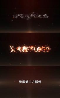 粒子LOGO片头AE模板