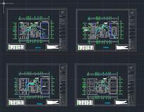 某工会监控设计平面图