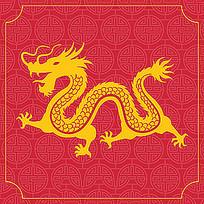 龙的装饰图案