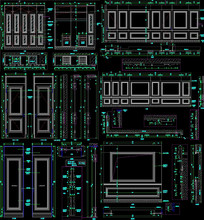全屋定制深化CAD CAD