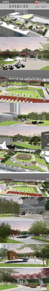 商场屋顶花园设计