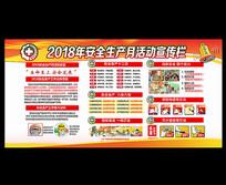 社区2018年安全生产月展板