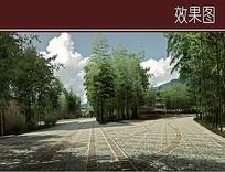竹林景观效果图