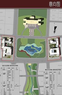 公园周边环境设计总图