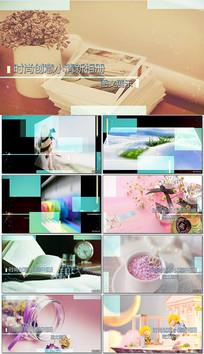 pr时尚创意小清新相册模板