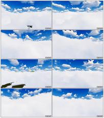 天空云彩实拍视频素材