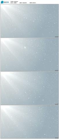 4K白色粒子雪花背景视频