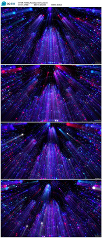 4K粒子奇幻空间背景视频