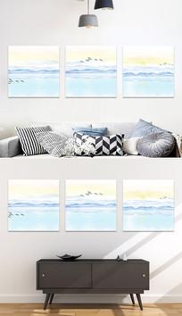 室内装饰风景无框画装饰画