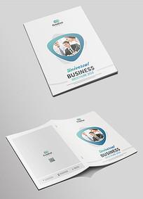 大气通用企业宣传画册封面