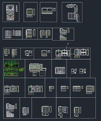 办公家具类标准生产图