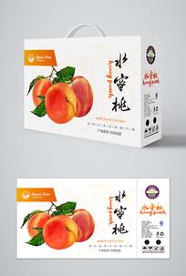高档水蜜桃礼盒包装