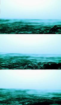 绿色水面背景视频素材