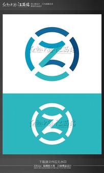 字母Z创意logo