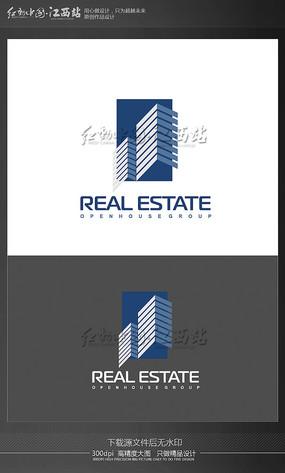 创意地产建筑logo
