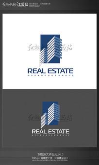 创意地产建筑logo EPS