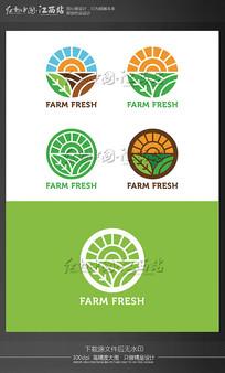 农场农业绿色logo