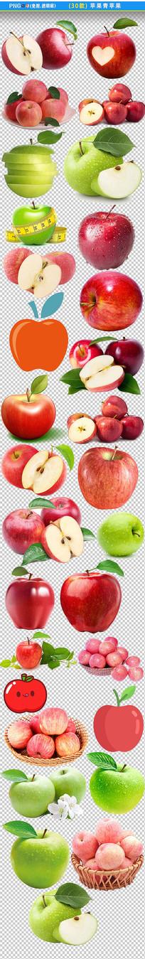 苹果青苹果PNG素材
