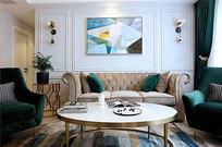 艺术装饰客厅设计
