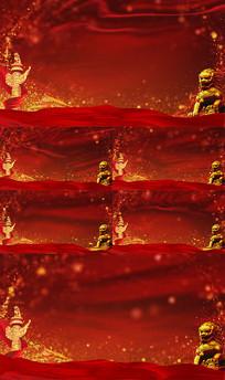 大气红色党政背景视频素材