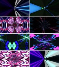 动感爵士线条音乐背景视频