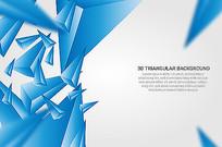 三角形状的抽象背景素材