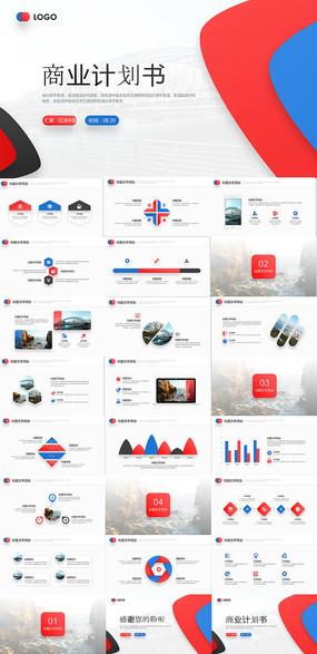 商业计划书PPT模板
