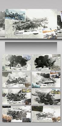 战争历史主题幻灯片AE模板