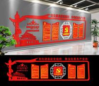 经典党员活动室党建文化墙