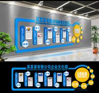 企业文化墙公司形象墙企业展板 CDR