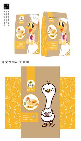 鸭爪鸭脖食品包装