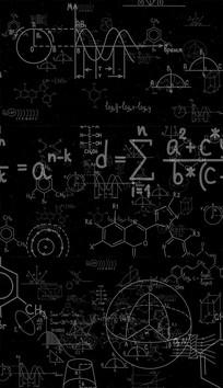 4K化学公式背景视频素材