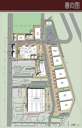 产业园规划彩平图