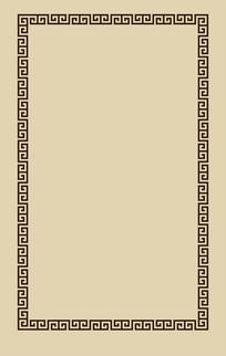传统花边边框