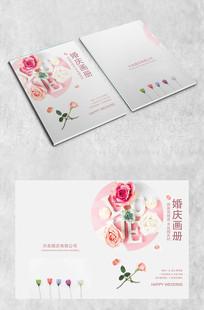 粉色花瓣画册封面
