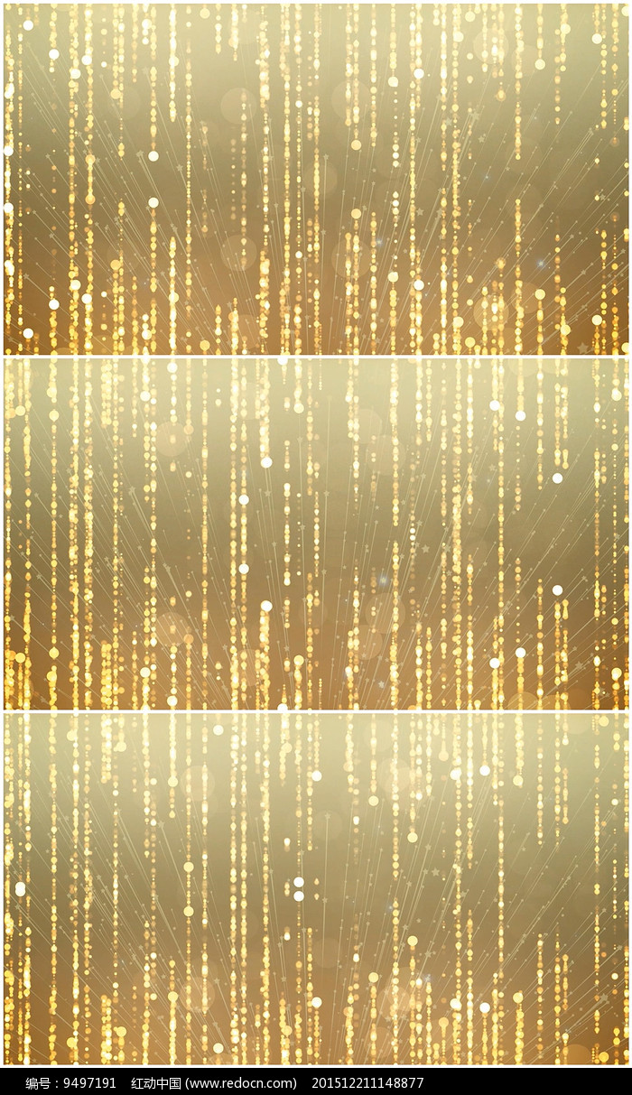 欢迎仪式金色粒子颁奖背景视频图片