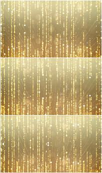 欢迎仪式金色粒子颁奖背景视频