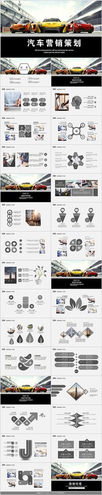 汽车营销策划PPT模板