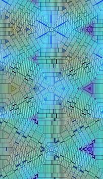 青色条纹花纹背景视频素材